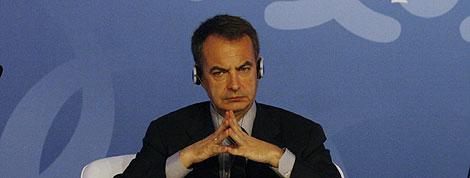José Luis Rodríguez Zapatero, en Estambul.   Efe