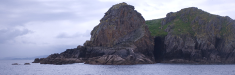 Vista de las islas Sisargas, en La Coruña.   Carlos Suarez