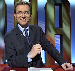 El presentador Jordi Hurtado. (Foto: TVE)