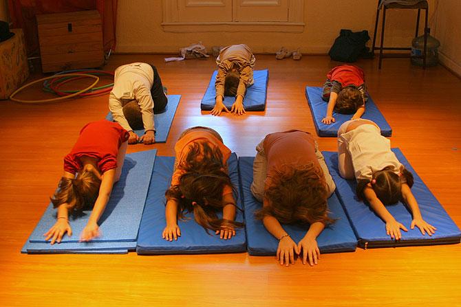 Niños estresados. (Foto: Alejandro Cherep)