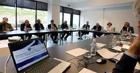 Junta general de accionistas de Unidad Editorial. (Reportaje fotográfico: José Aymá)