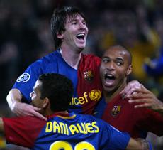 Messi celebra un gol. | Quique García