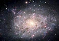 La galaxia espiral NGC 7793. | Efe