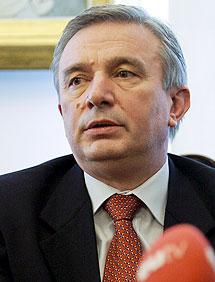 Filip Teodorescu, embajador rumano declarado persona 'non grata'.   Efe