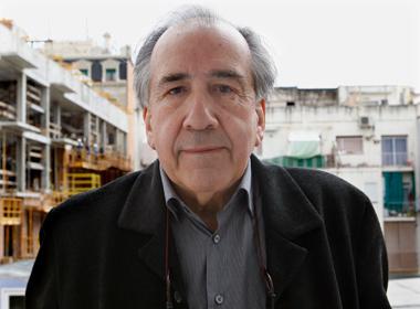 El poeta Joan Margarit, en Barcelona. | Efe
