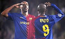 Henry y Eto'o. | Efe