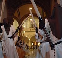 Procesión de Jueves Santo en Orihuela.