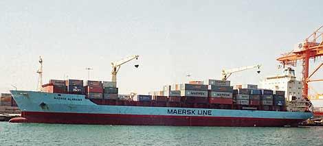 El 'Maersk Alabama', el carguero que apresaron los piratas somalíes. | AP
