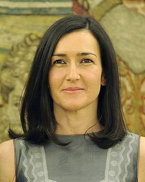 La nueva ministra de Cultura, Ángeles González-Sinde.   AFP