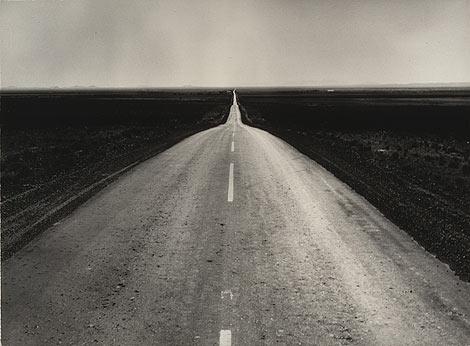 'The road west, New Mexico' (1938), de Dorothea Lange.