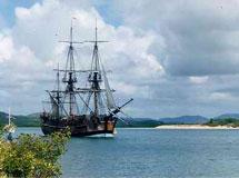 El Endeavour, la nave del capitán Cook