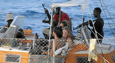 Secuestro de un barco francés en aguas del océano Índico. | Afp