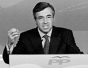 Ángel Acebes, ex secretario general del PP.