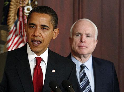 Los dos candidatos a ocupar la Casa Blanca. | Reuters