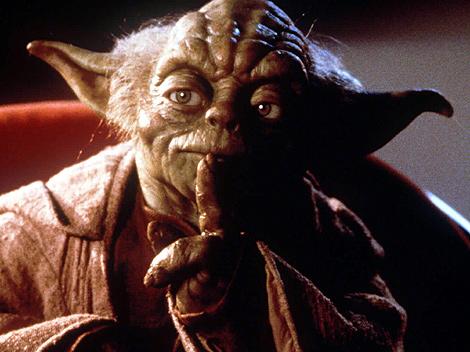 Yoda, el Jedi por antonomasía.