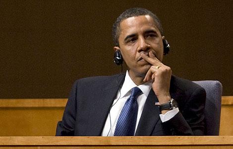 El presidente Obama, durante la cumbre de la OEA. | Ap