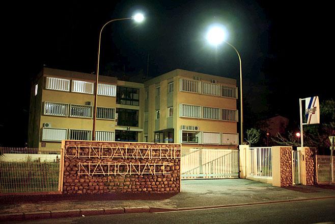 Comisaría de Perpiñán, a donde fue conducido Martitegi. | Efe