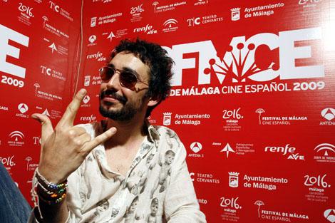 Canco Rodríguez en el Festival de cine de Málaga. | Carlos Díaz