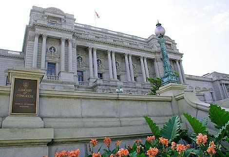 La biblioteca del Congreso americano. | Afp