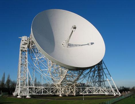 El telescopio Lovell forma parte del proyecto e-Merlin.| Jodrell Bank