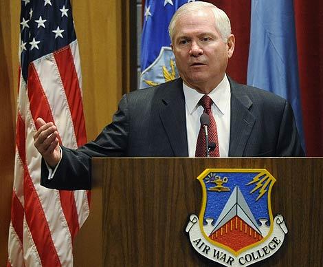 El secretario de Defensa, Robert Gates. | Ap