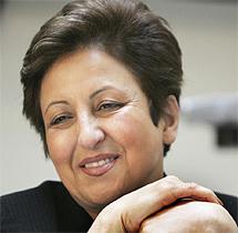 La nobel Shirin Ebadi. (Foto: Reuters)