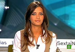 La presentadora Sara Carbonero. (Foto: La Sexta)