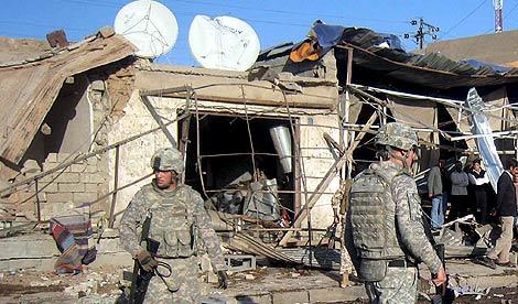 Soldados estadounidenses en Irak. | Efe