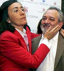 Aguilar y su posible sucesor, Andrés Ocaña. | Efe