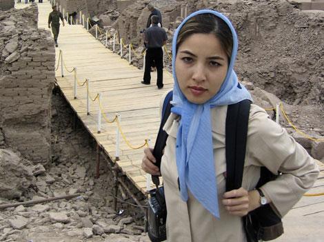 Roxana Saberi, antes de ser encarcelada. | Reuters