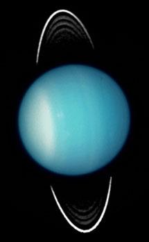 Urano observado con el Hubble en 2003. | NASA, ESAI