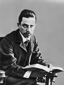 El poeta Rainer María Rilke