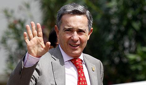 Álvaro Uribe. | Afp