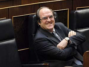 El ministro de educación, Ángel Gabilondo (Foto: Bernardo Díaz).