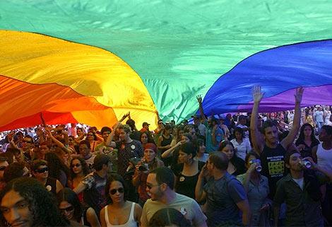 Desfile del Orgullo Gay en Brasilia, en 2008. | Cortesía de la Agencia Brasileña de Noticias