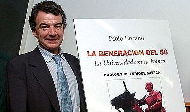 Lizcano, en la presentación de la reedición de su libro. | Efe