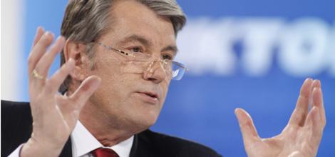 Viktor Yushchenko durante una conferencia en Kiev. | Reuters