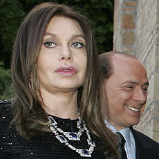 Veronica y Silvio Berlusconi. | Reuters