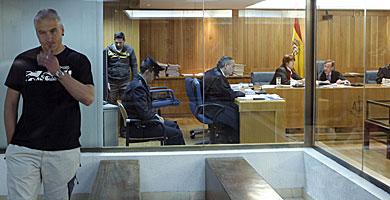 El ex dirigente etarra 'Txapote', en la Audiencia Nacional. | Efe