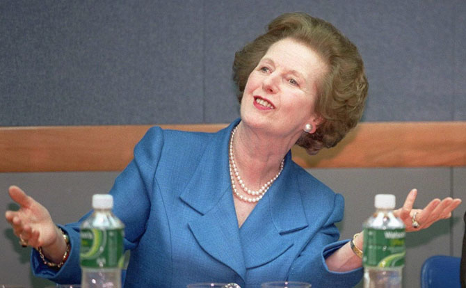 Margaret Thatcher, en 1997. | Epa