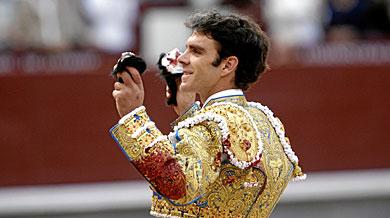 José Tomás, en Las Ventas el pasado junio. | A. Heredia