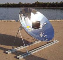 Una cocina solar. | F. Sacristán