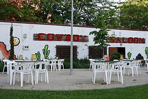 Hoy en día no queda ningún vestigio de los americanos sólo el bar cowboy   Carlos Alba