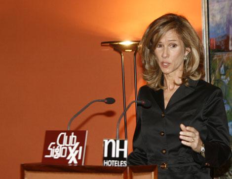 La ministra de Ciencia e Innovación, Cristina Garmendia.   Begoña Rivas