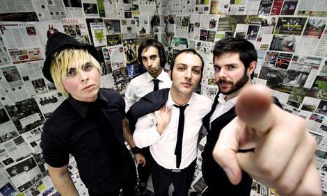 Los cuatro integrantes del grupo. | Carlos Padilla
