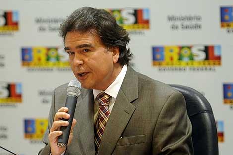 El ministro de Sanidad de Brasil, José Gomes Temporao. | Efe