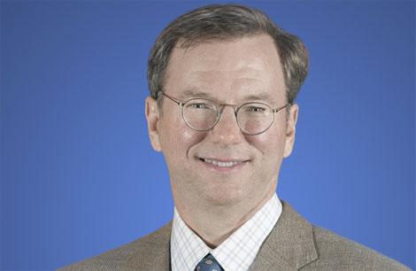 Eric Schmidt, CEO de Google