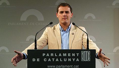 Albert Rivera está siendo muy criticado por parte de la militancia   Domènec Umbert