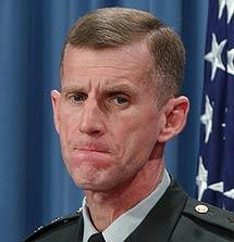 El general Stanley McCrystal. | AP