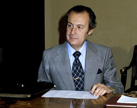 Fernández-Cuesta,en una imagen de 1981. | Efe